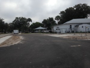 Vastly improved parking for the West Pasco Historical Society's Museum.